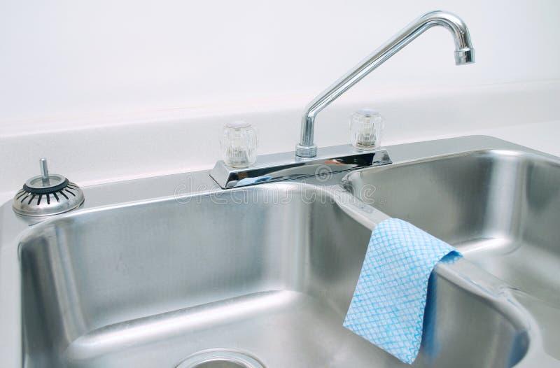 2厨房水槽 免版税库存图片