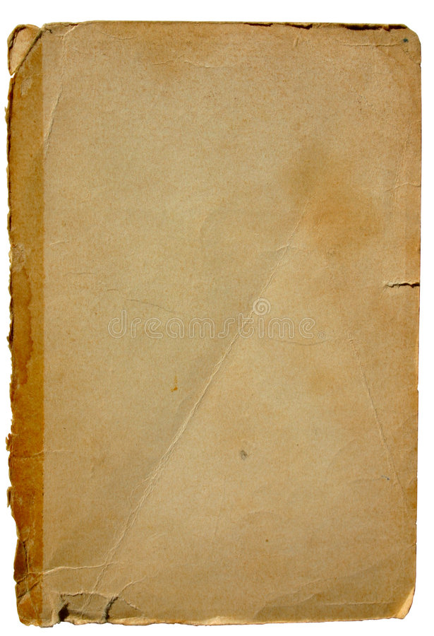 2变老的纸张 免版税库存照片