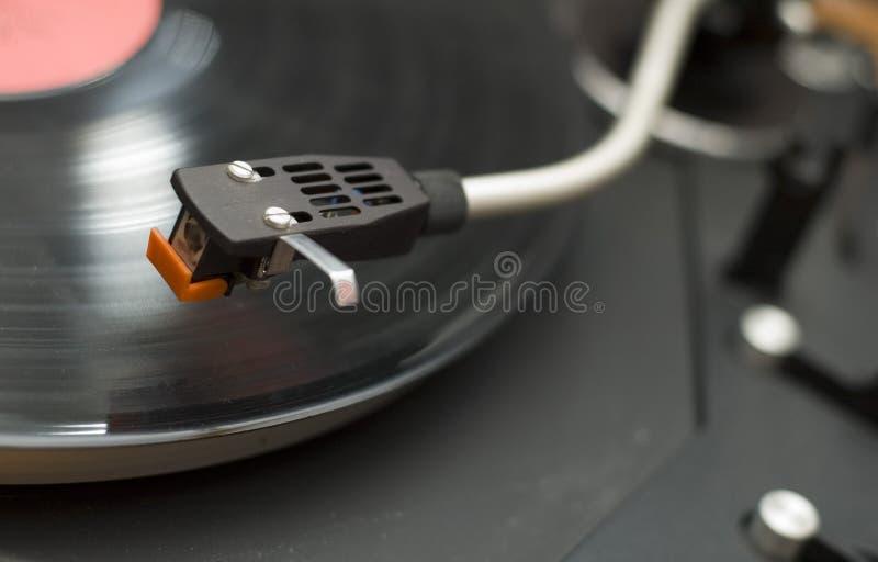 2台留声机转盘 免版税库存图片