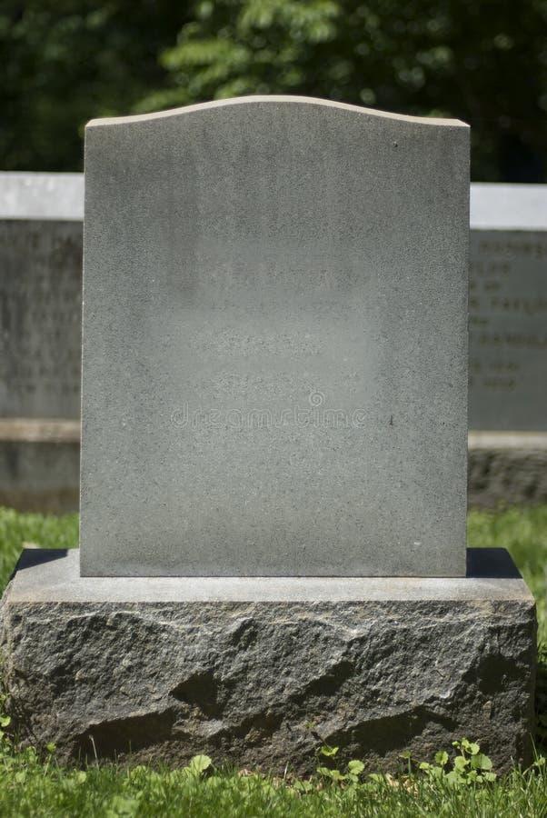 2墓碑 库存照片