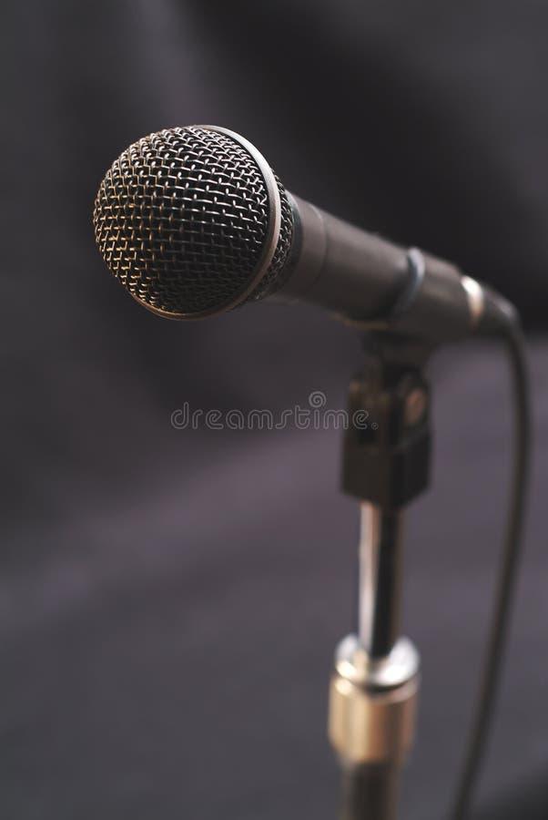 2声音的话筒 库存照片