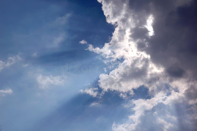 2天空 免版税库存图片