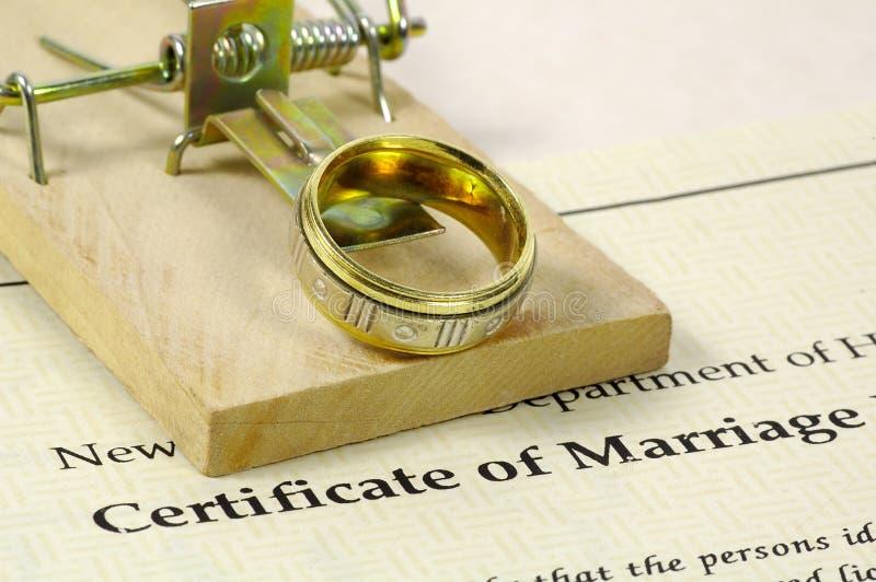 2婚姻 免版税库存图片