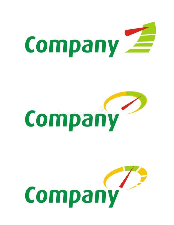 2家公司徽标 库存照片