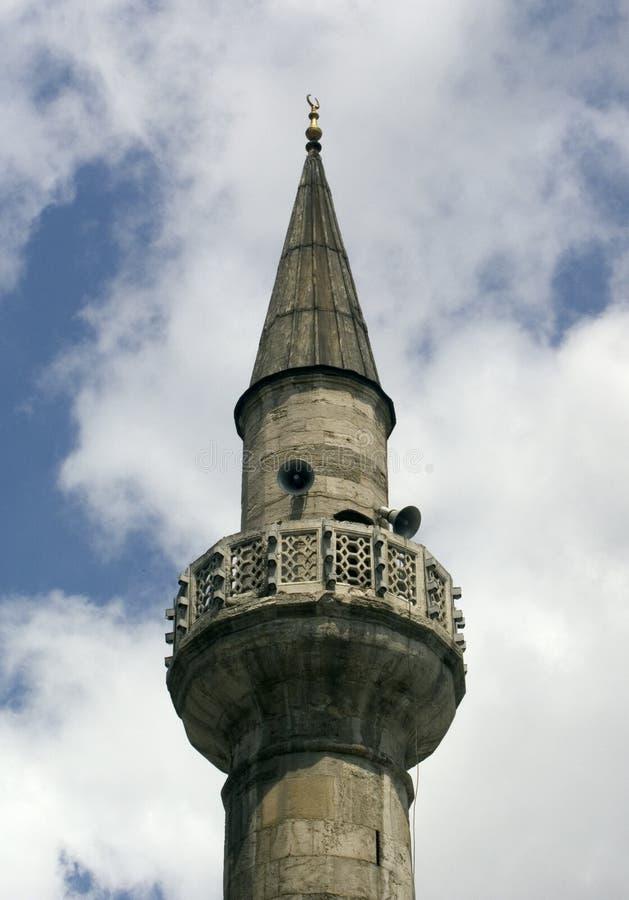 2尖塔 库存照片