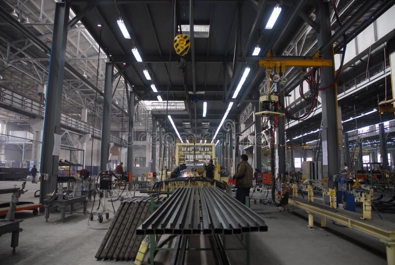 2工厂 免版税图库摄影