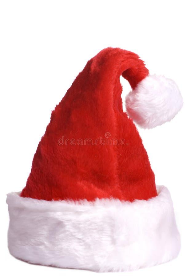 2帽子圣诞老人 库存照片