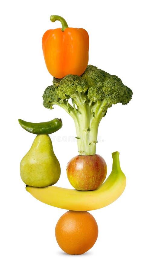 2平衡饮食 免版税库存照片