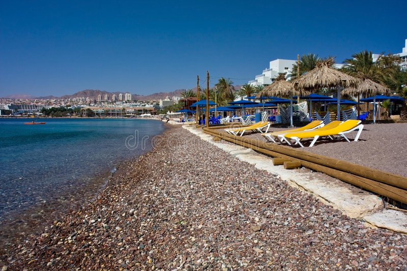 2异乎寻常的海滩 免版税库存图片