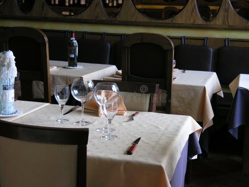 2我们的欢迎的resto 库存照片