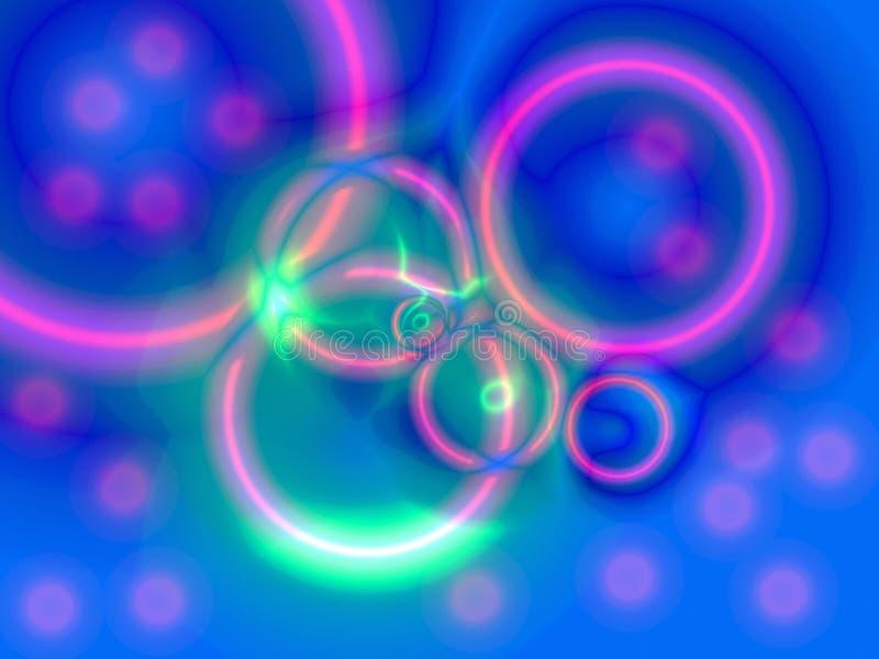 2抽象颜色 皇族释放例证