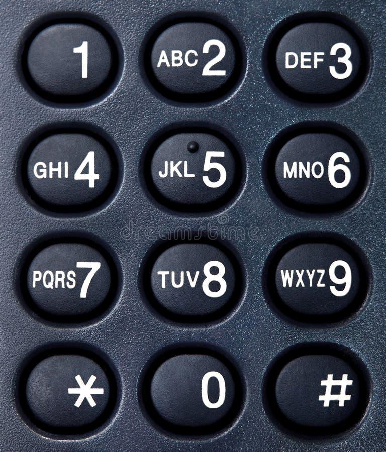 2拨号电话 库存照片