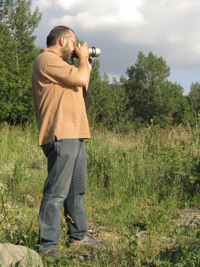 2摄影师 免版税图库摄影