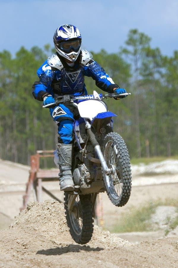2摩托车越野赛 库存照片