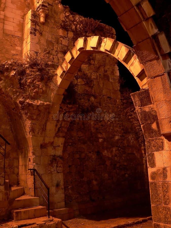 2曲拱耶路撒冷 库存照片