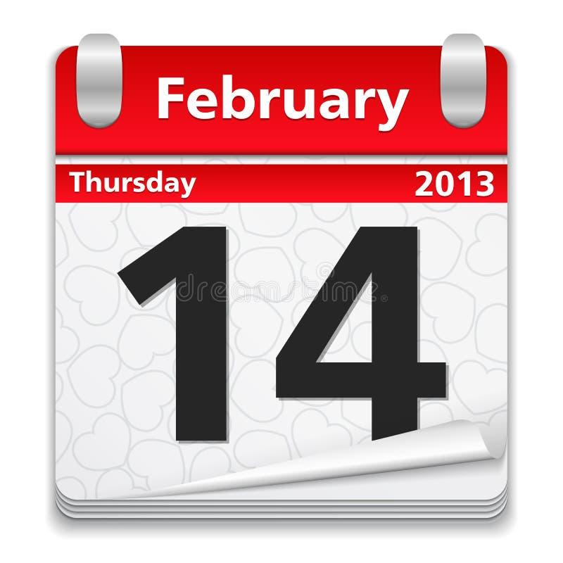 2月14日 向量例证