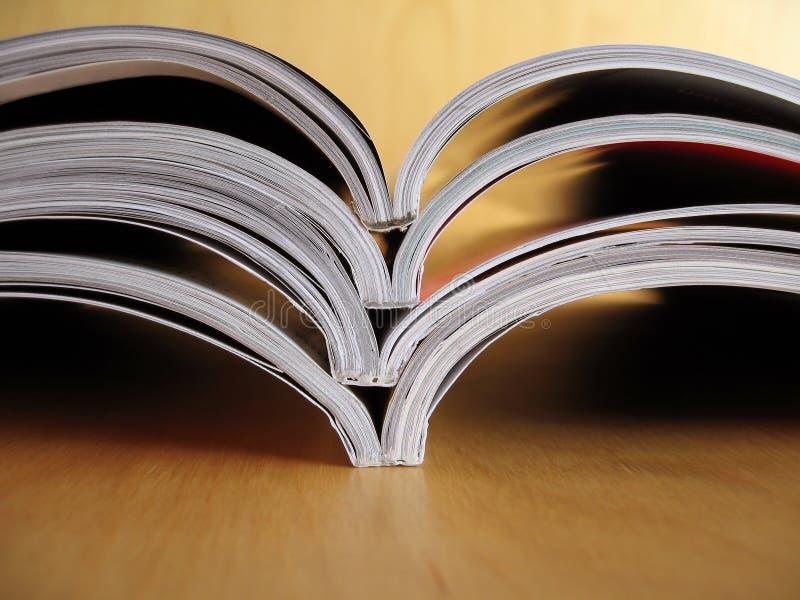 2材料读 免版税库存照片