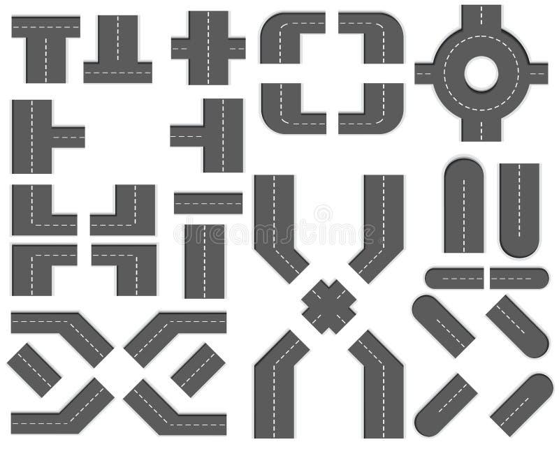 2条创建diy ity工具箱映射零件路 库存例证
