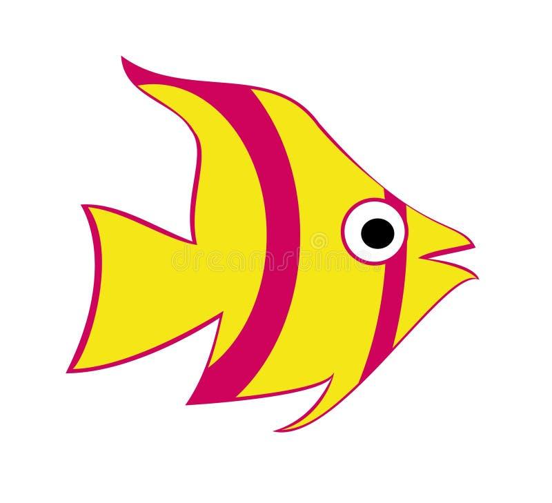 2条鱼海洋 库存照片