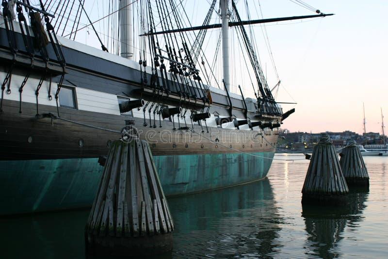 2殖民地船 免版税库存图片