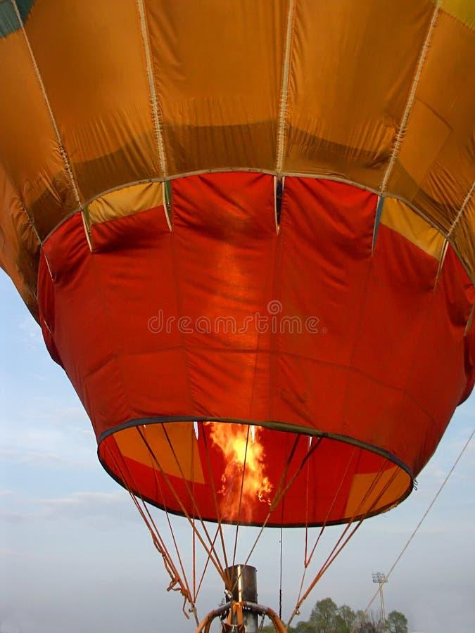 2气球接近热  库存照片