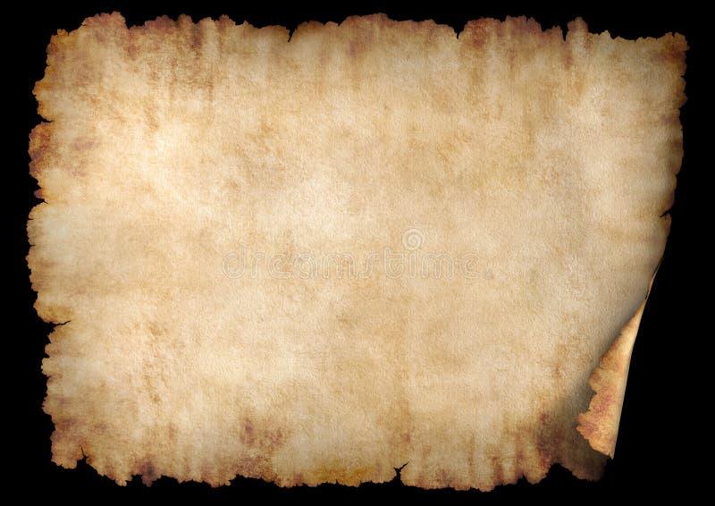 2水平的羊皮纸 免版税图库摄影