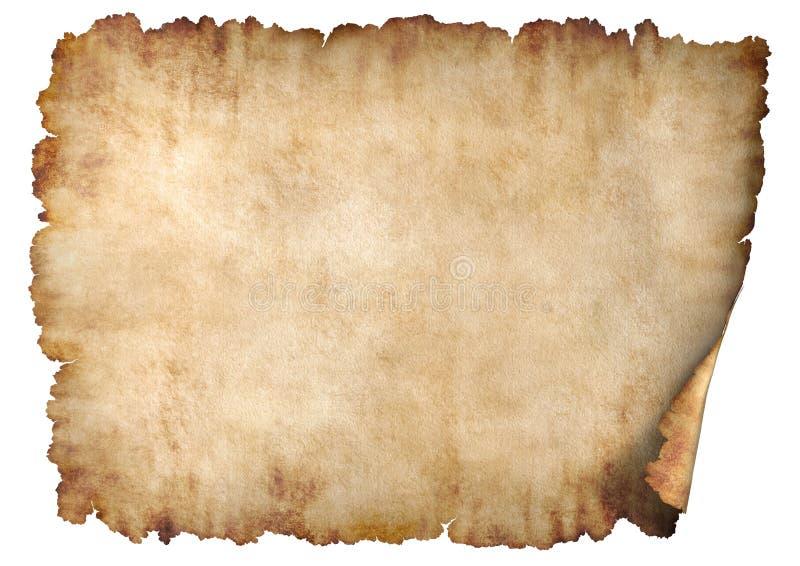 2水平的羊皮纸 库存照片