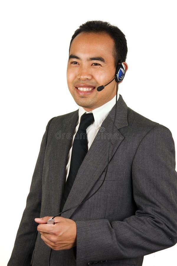 2没有雇工的phonecall 图库摄影