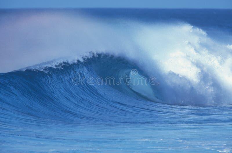 2海浪 免版税库存图片