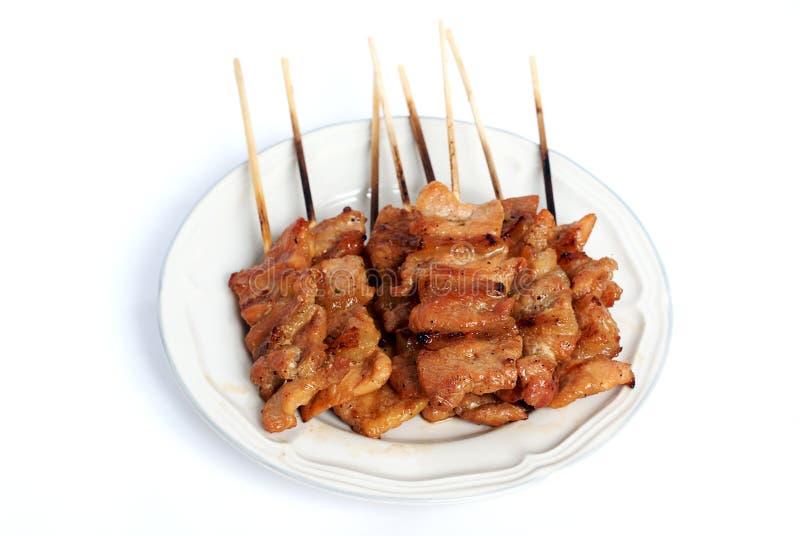 2烤的猪肉 库存照片
