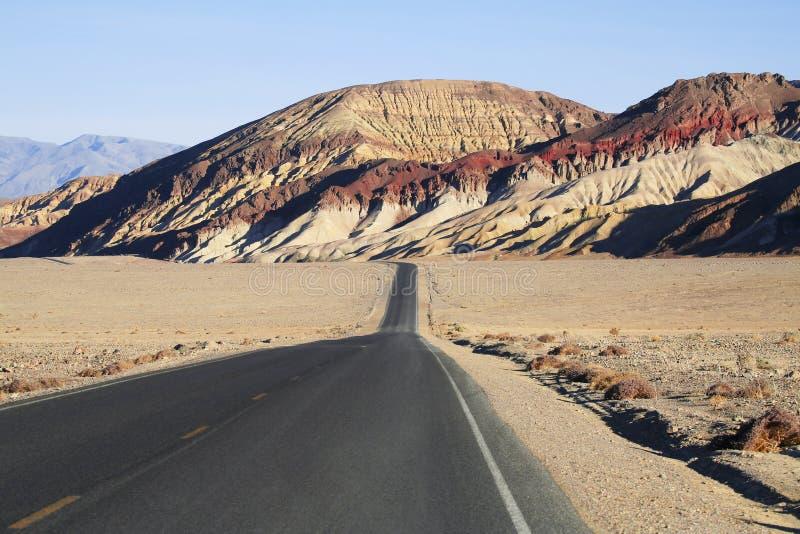 2片沙漠高速公路 免版税图库摄影