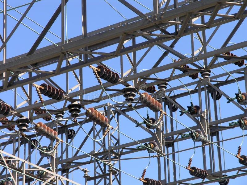 2电力信号塔 库存图片