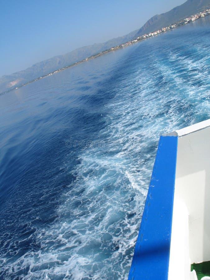 2离开的海岛 库存照片