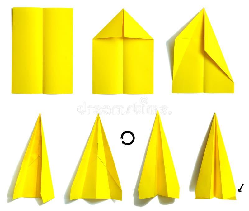 2纸飞机 向量例证