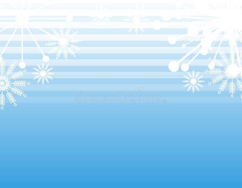 2背景雪花数据条 库存例证
