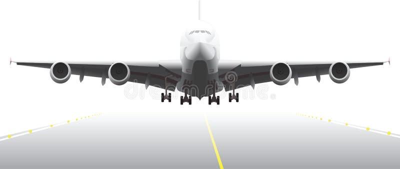 2航行器着陆零件 库存例证