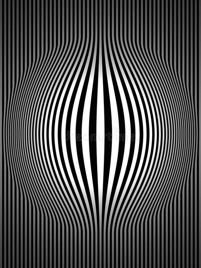 2艺术黑色凸起的操作数据条垂直的白色 向量例证