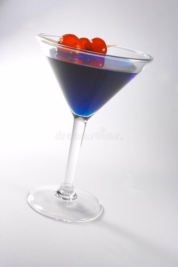 2蓝色鸡尾酒 免版税库存图片
