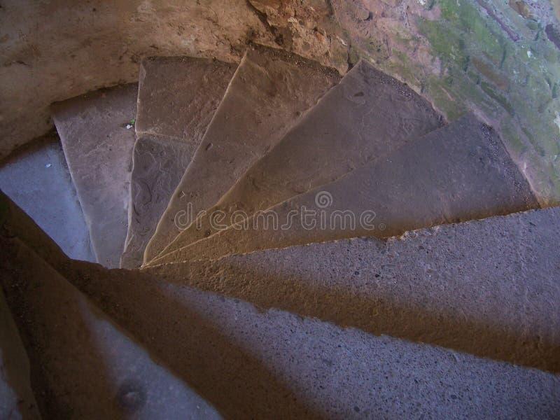 2螺旋形楼梯 库存图片