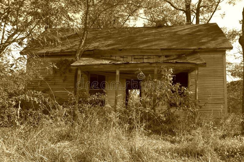 2被困扰的房子 图库摄影