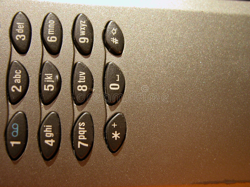 2详细资料移动电话 免版税库存图片