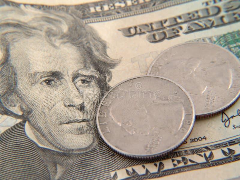 2货币 库存图片