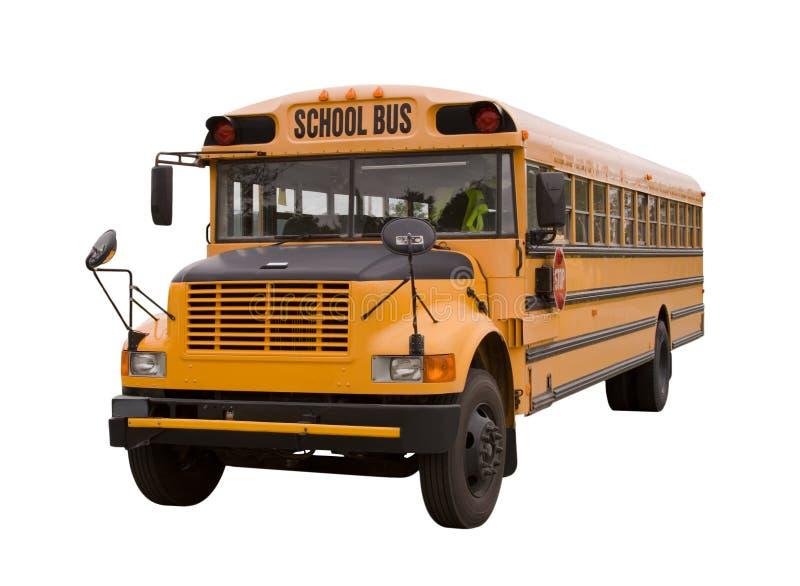 2辆公共汽车学校 免版税库存照片