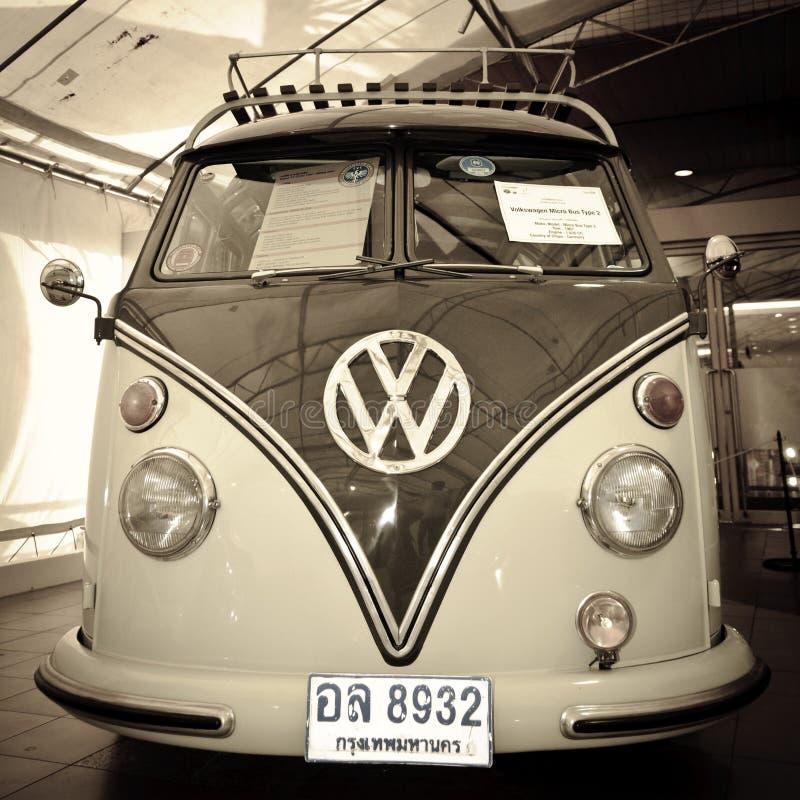 2辆公共汽车微类型大众 免版税库存照片