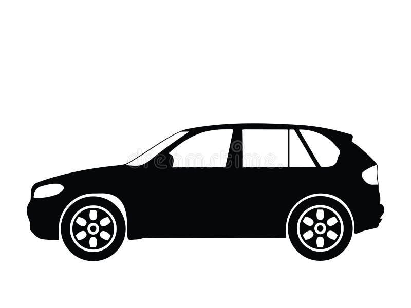 2辆汽车向量 皇族释放例证