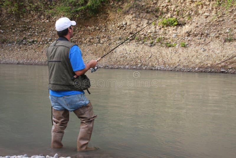 2钓鱼 图库摄影