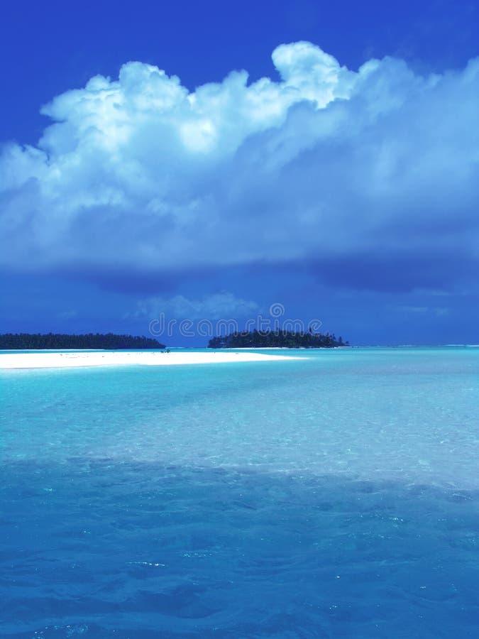 2闪耀的盐水湖 库存图片