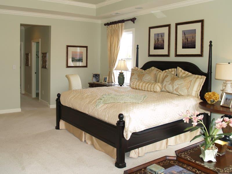 2间卧室重要资料 库存图片