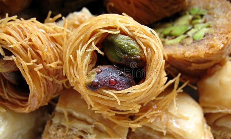 2阿拉伯甜点 库存图片