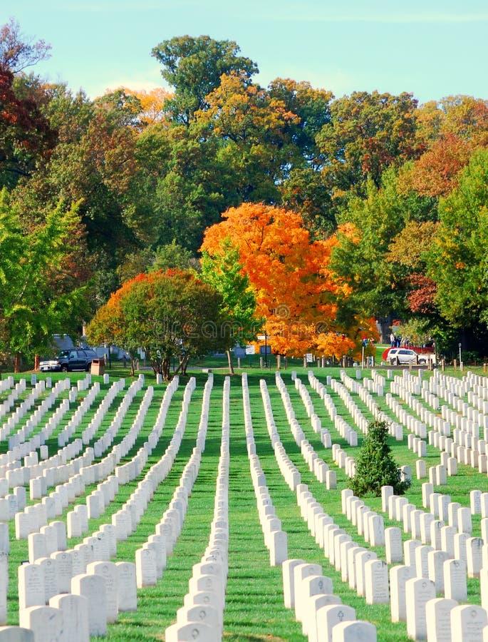 2阿灵顿墓地国民 库存图片